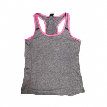 Ladies' sports top tank style No. JL02358